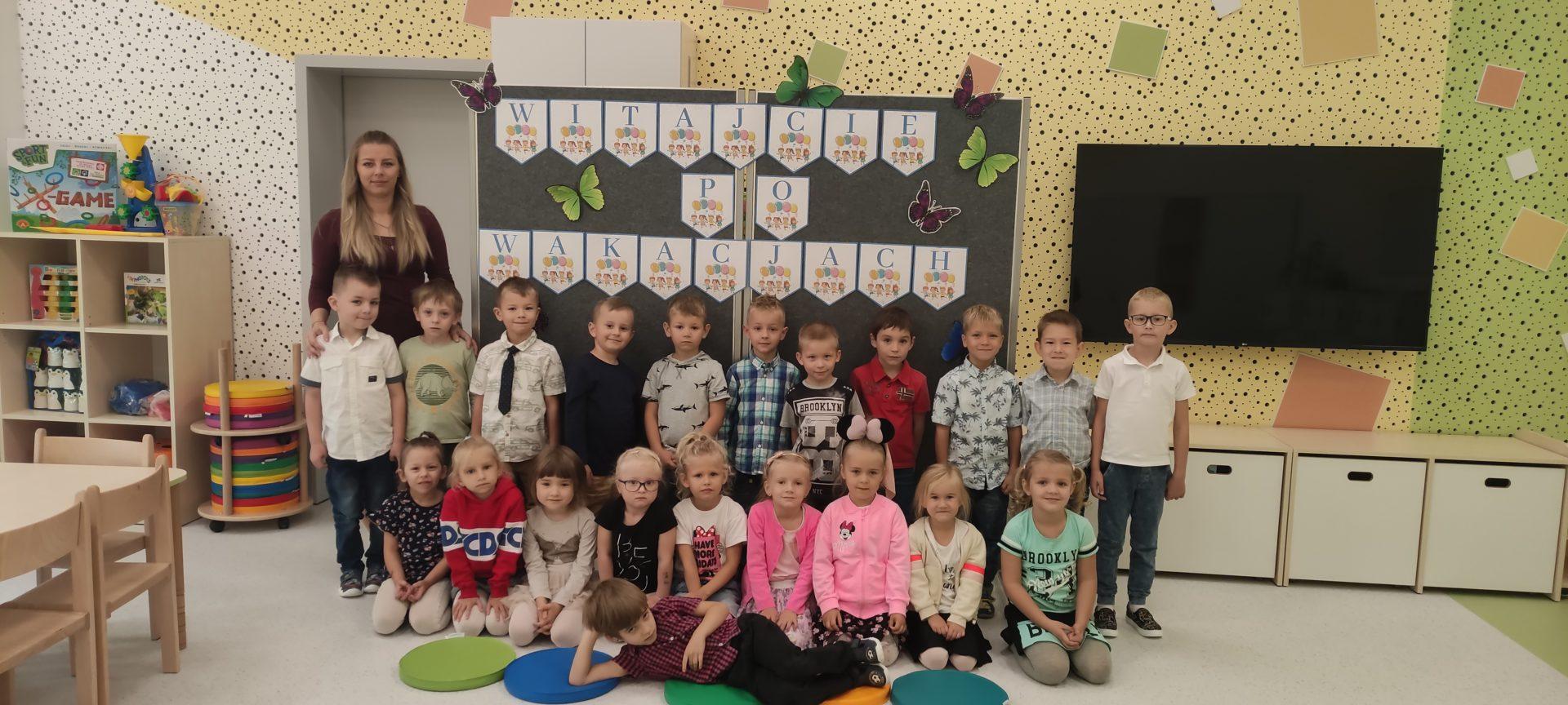 Motylki pierwsze dni w przedszkolu