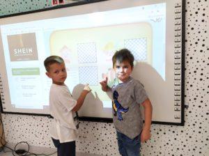 przedszkole - klodawa - grupa - Pszczółki - tablica interaktywna