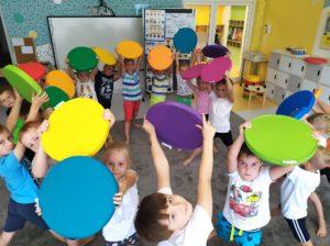 przedszkole - klodawa - grupa - Pszczółki - Międzynarodowy Dzień Kropki.