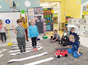 przedszkole - klodawa - grupa - Pszczółki - tydzień pod hasłem Bezpieczny przedszkolak